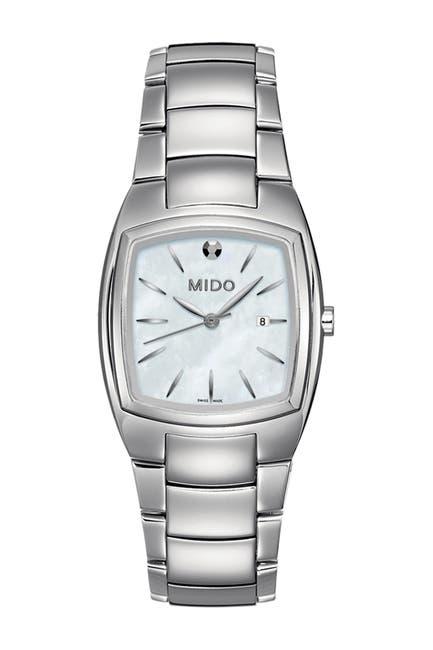 Image of MIDO Women's Romantique Mother of Pearl Quartz Bracelet Watch, 30mm