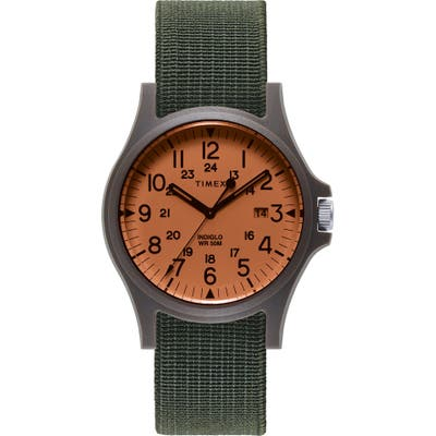 Timex Archive Acada Nato Strap Watch, 40Mm