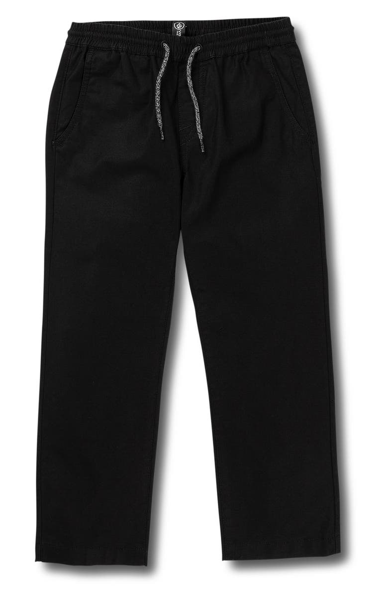 VOLCOM Riser Comfort Chino Pants, Main, color, 001