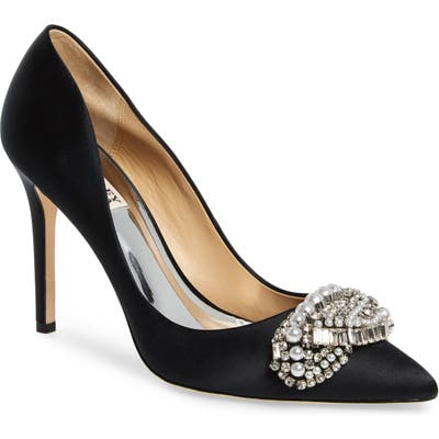 Badgley Mischka Olga Pump- Black