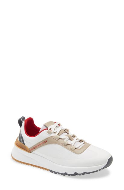 Brunello Cucinelli HONEYCOMB LACE-UP SNEAKER