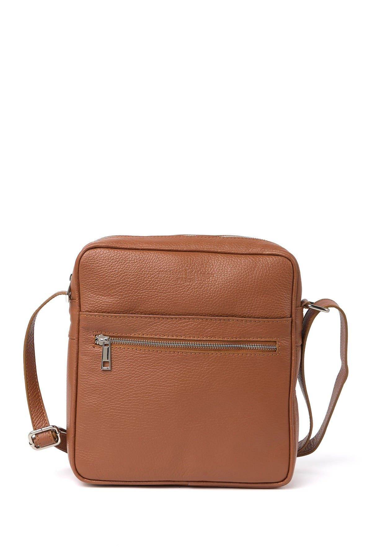 Image of Maison Heritage Leather Crossbody Bag