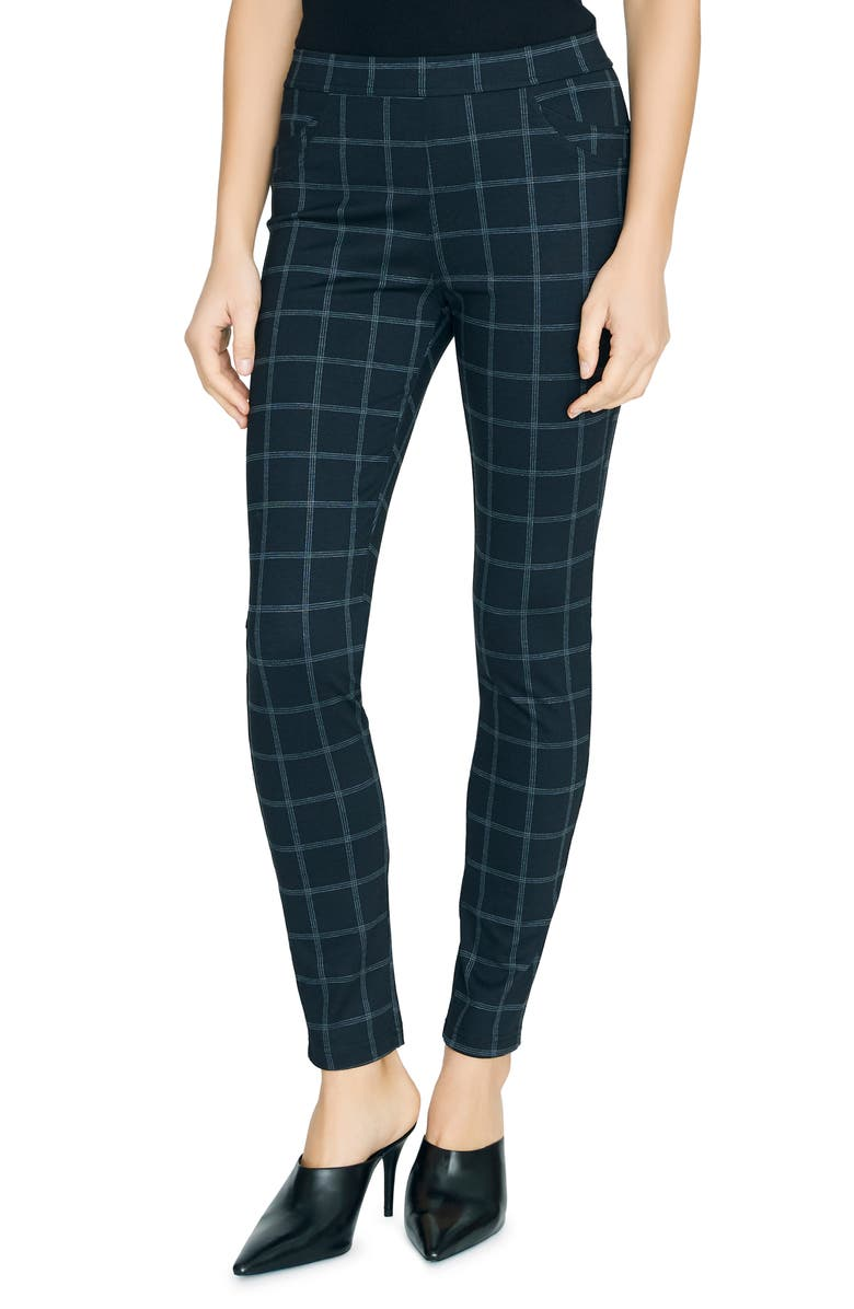 SANCTUARY Grease Leggings, Main, color, WINDOW PANE PLAID