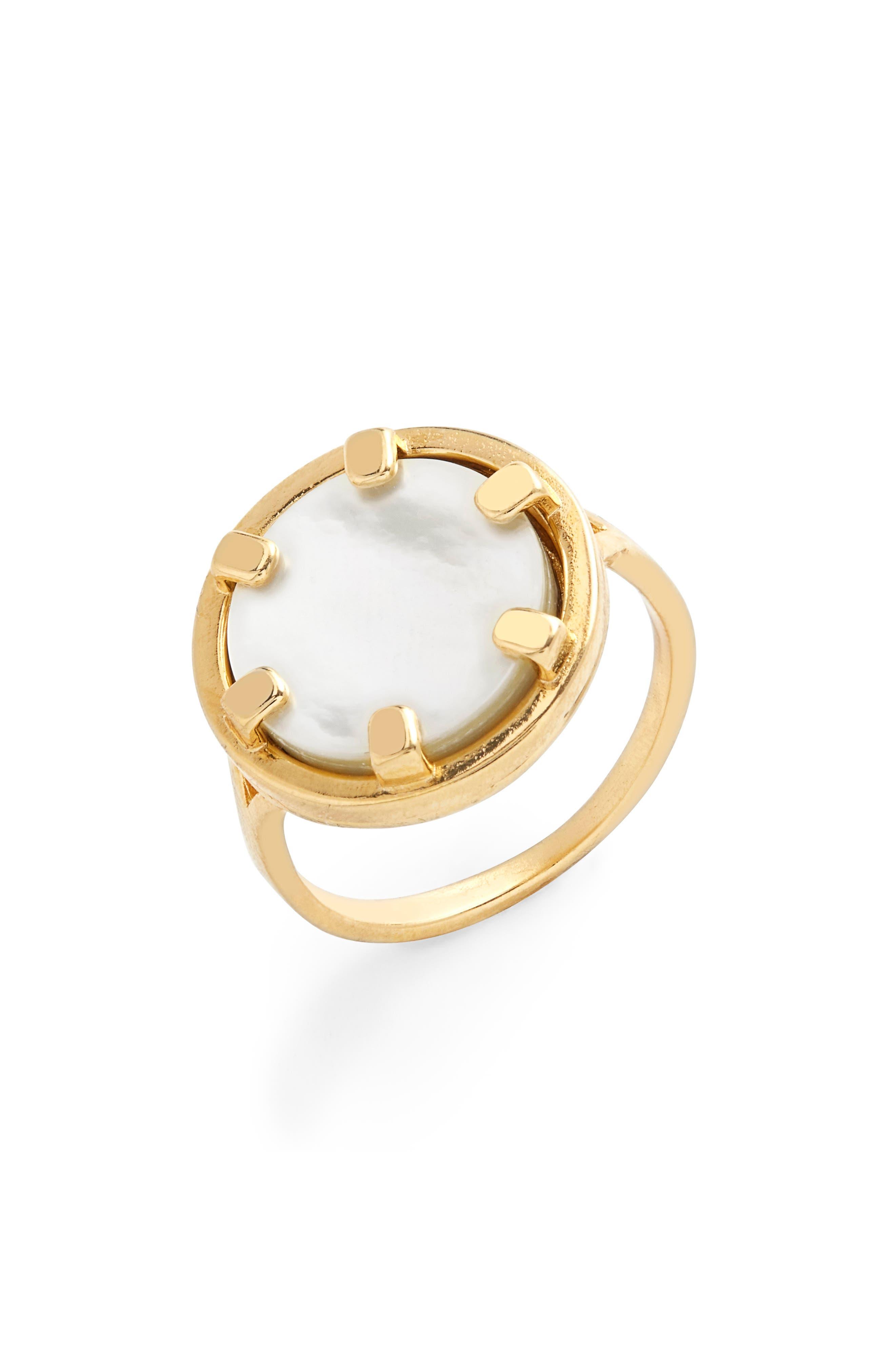 Maya Coin Ring