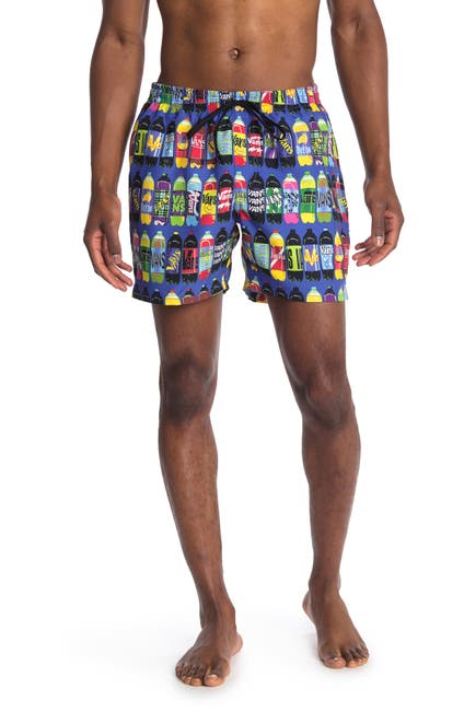 Image of VANS Fergus Purcell Corner Store Swim Trunks