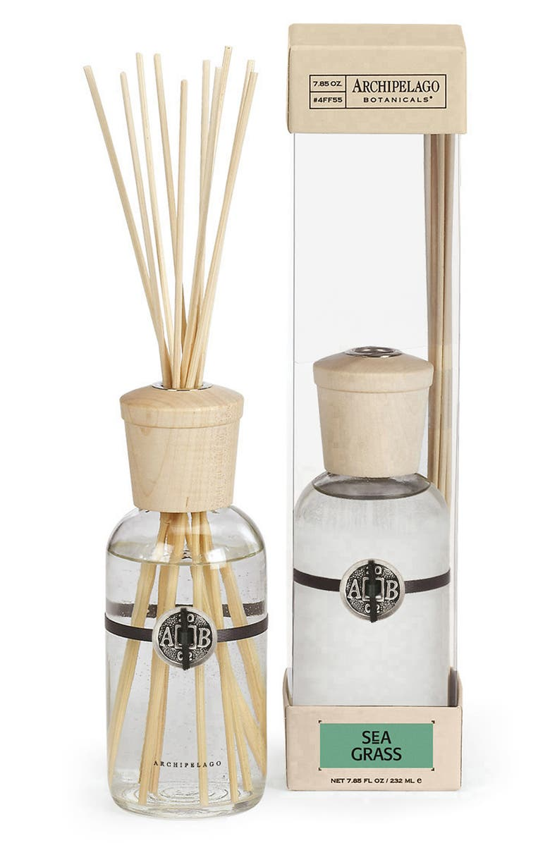 ARCHIPELAGO BOTANICALS Fragrance Diffuser, Main, color, SEAGRASS
