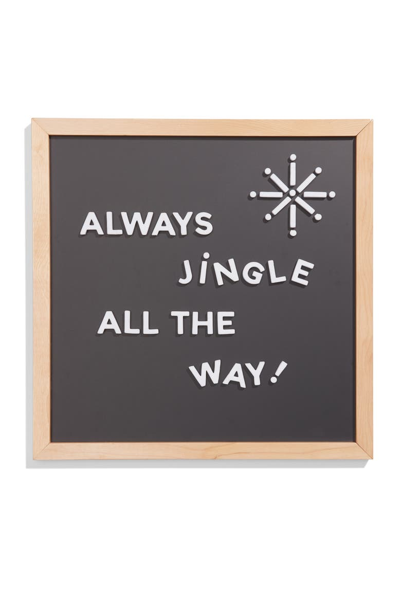 THE TYPE SET CO . Magnetic Chalkboard Slate, Main, color, 001