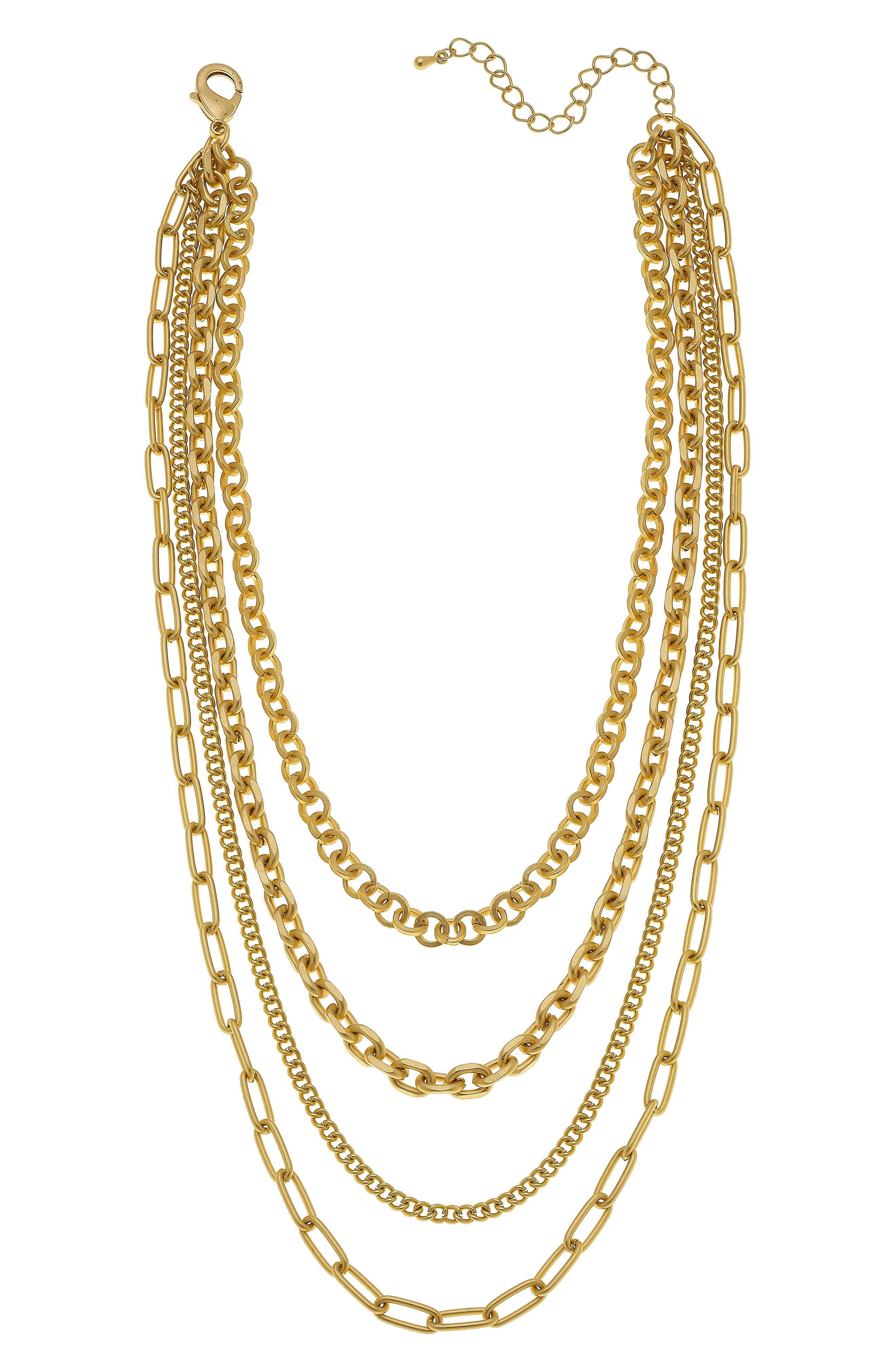 Anaise Layered Chain Necklace