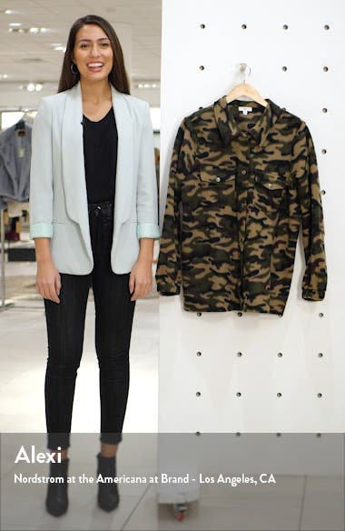 Fleece Camo Jacket, sales video thumbnail