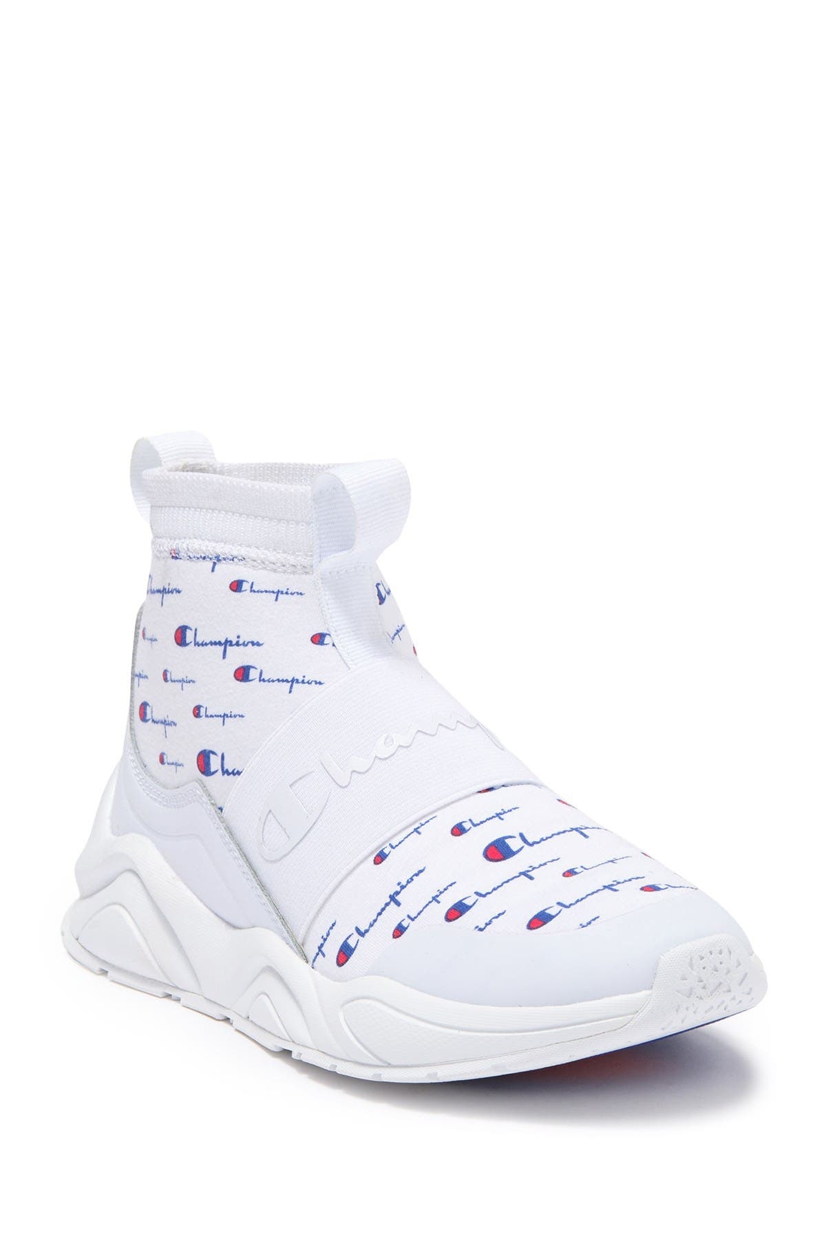 Champion   Rally Script Sock Sneaker