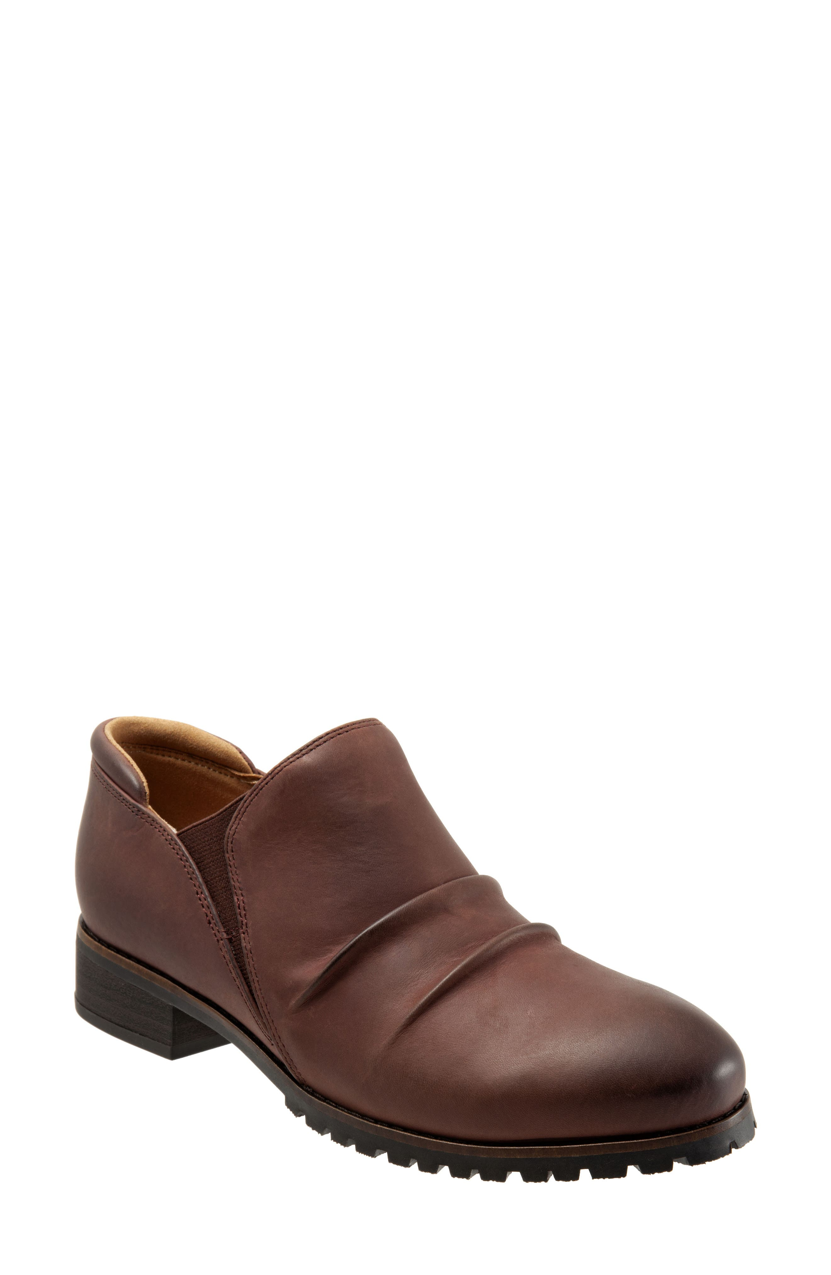 Softwalk Mara Ankle Boot- Brown