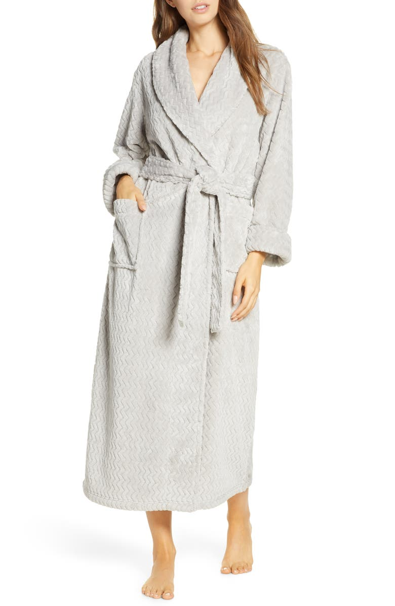 NATORI Plush Geo Robe, Main, color, 020