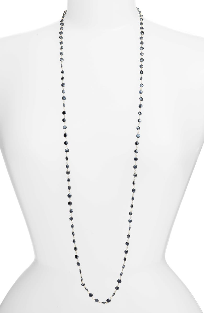 ELA RAE Diana Coin Necklace, Main, color, 008
