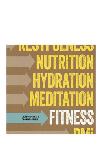 Image of TF Publishing 2021 Health Exercise & Wellness Wall Calendar
