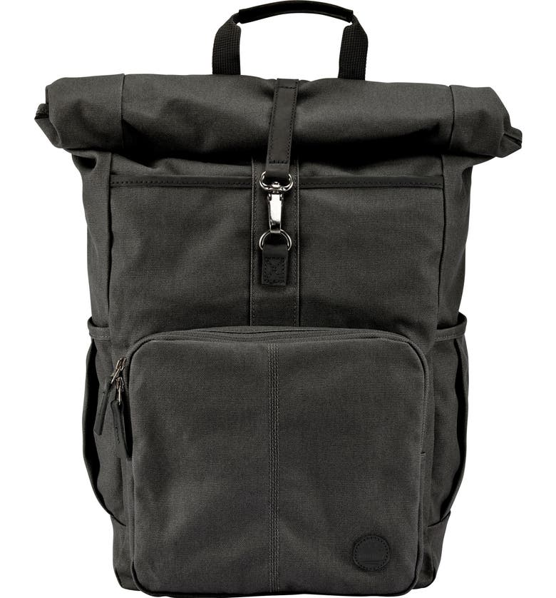 TIMBERLAND Walnut Hill Rolltop Backpack, Main, color, 008