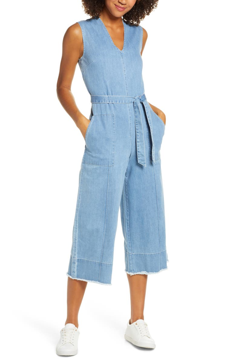 CAARA Wesley Sleeveless Jumpsuit, Main, color, 400