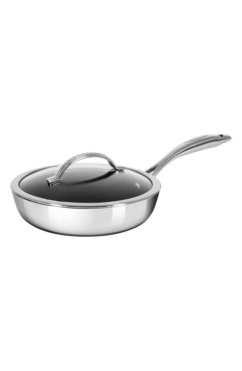 SCANPAN HaptIQ 10-Inch Stainless Steel Sauté Pan, Main, color, SILVER