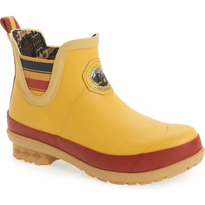 Pendleton Yellowstone National Park Chelsea Waterproof Rain Boot, Yellow