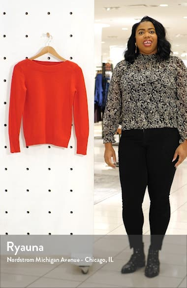 Peggy Button Cuff Sweater, sales video thumbnail