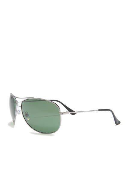 Image of Ray-Ban 63mm Polarized Aviator Sunglasses