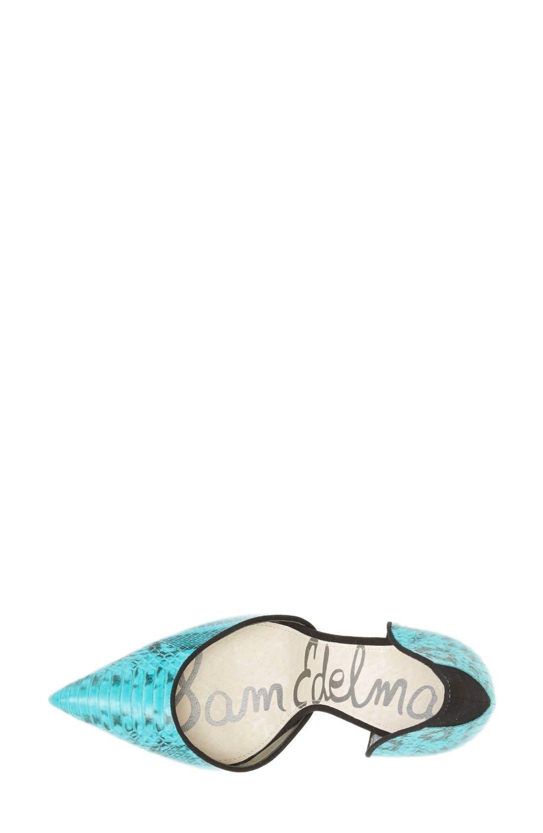 ,                             'Delilah' Calf Hair d'Orsay Pump,                             Alternate thumbnail 63, color,                             441