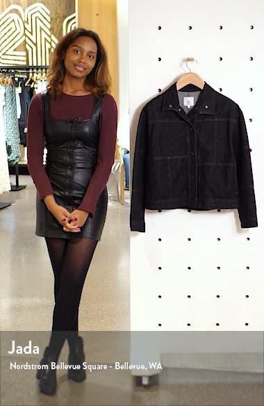 Kaya Oversize Denim Jacket, sales video thumbnail