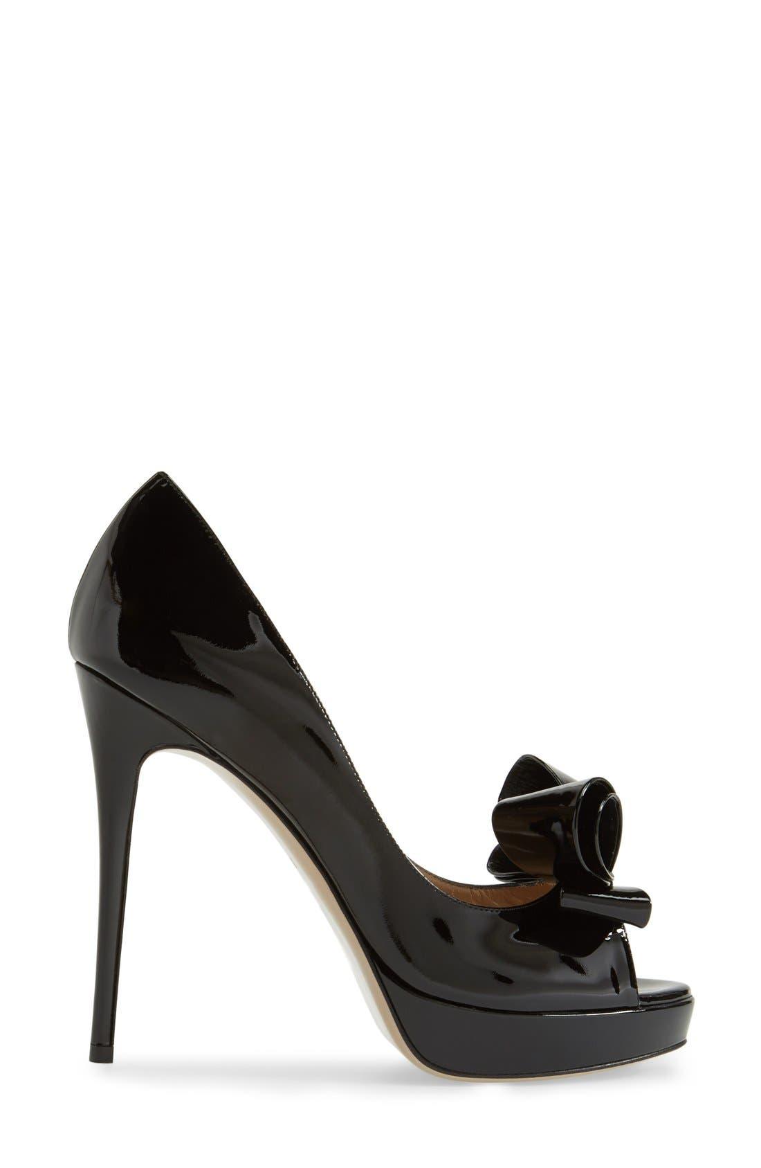 ,                             Couture Bow Platform Pump,                             Alternate thumbnail 2, color,                             001