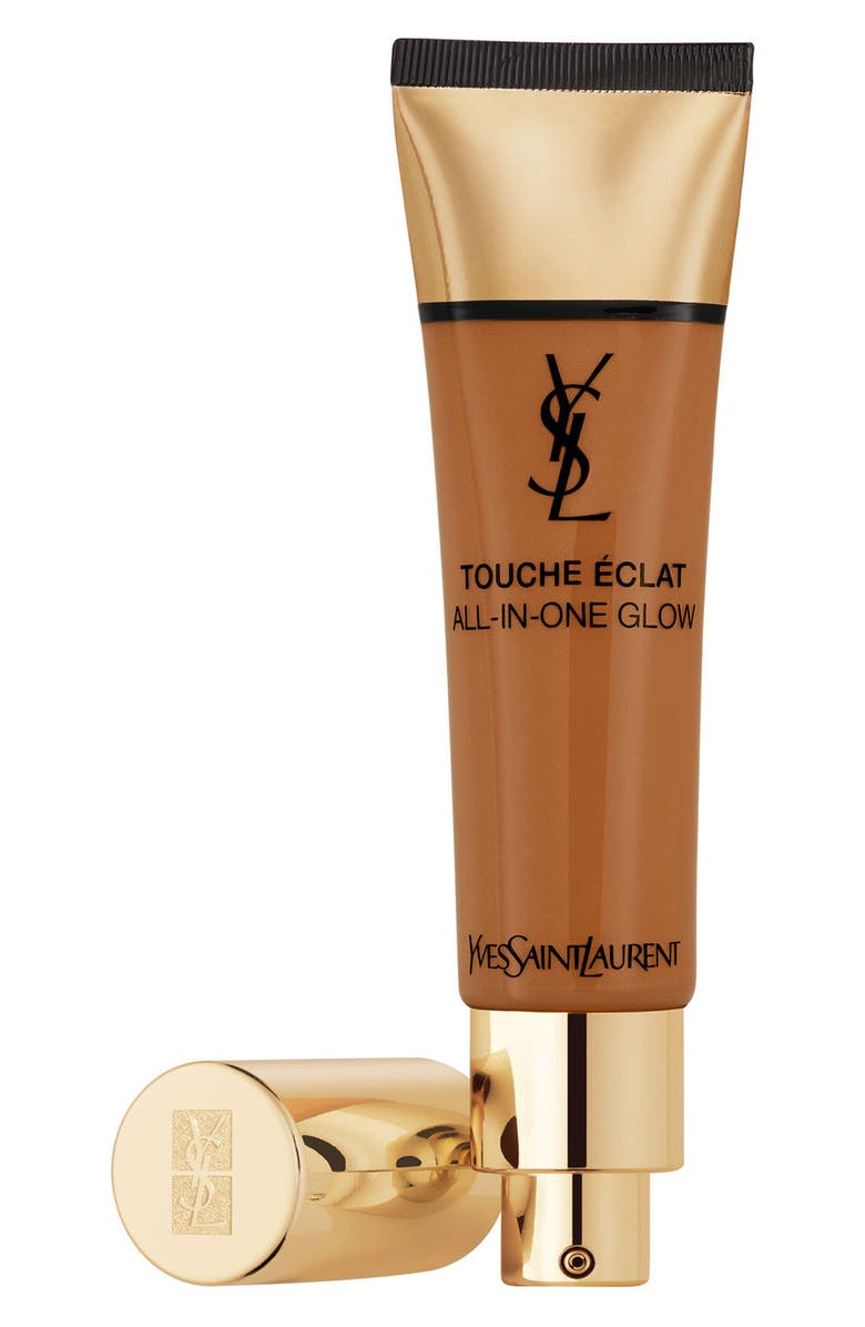 YVES SAINT LAURENT Touche Éclat All-in-One Glow Tinted Moisturizer SPF 23, Main, color, B80 CHOCOLATE