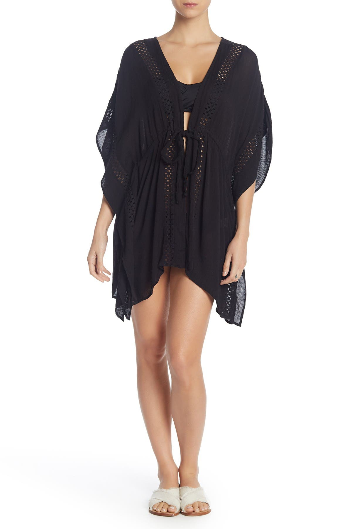 Image of ELAN Crochet Cover-Up Tunic