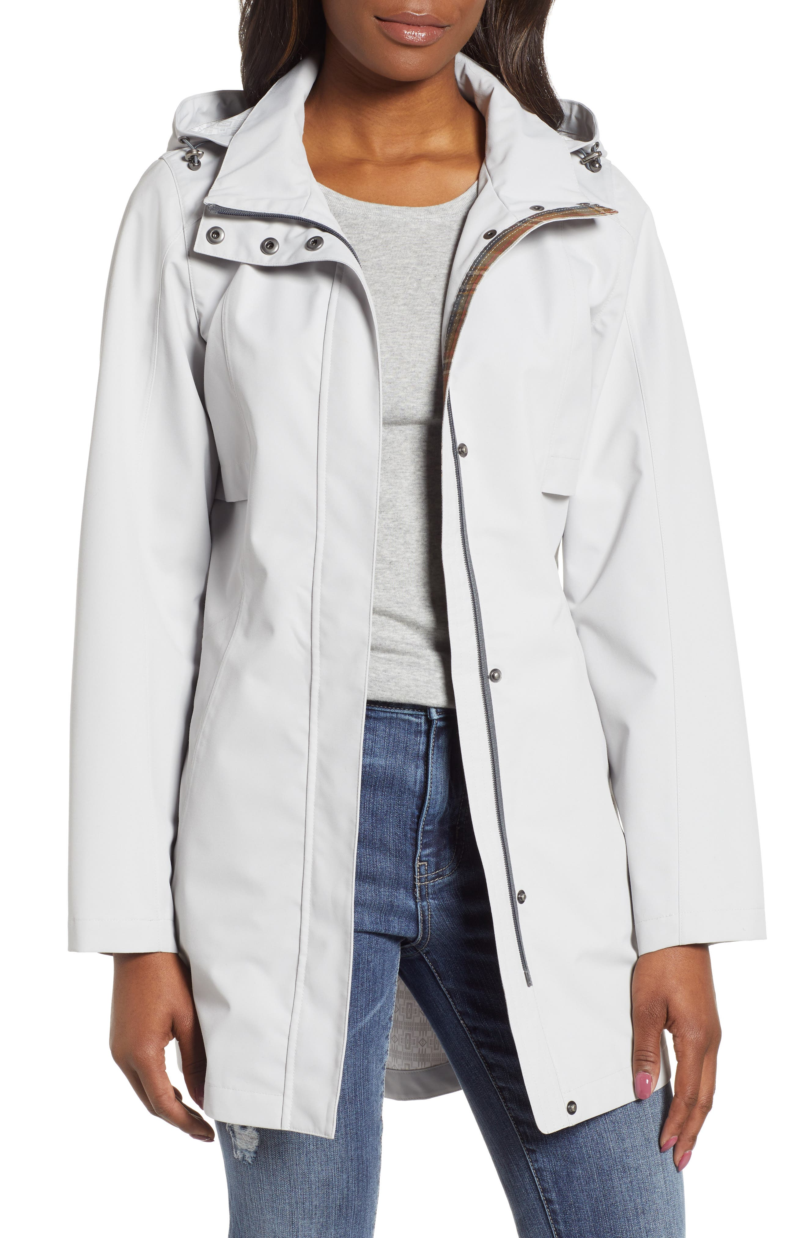 Josephine Water Repellent Hooded Jacket, Main, color, 055