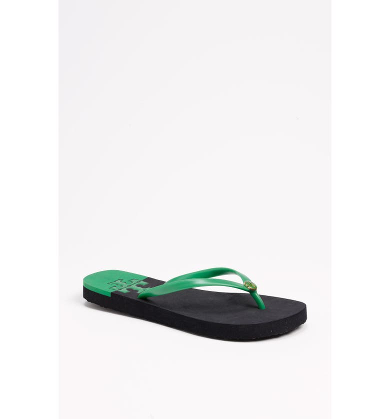 TORY BURCH 'Stacked T' Flip Flop, Main, color, 300