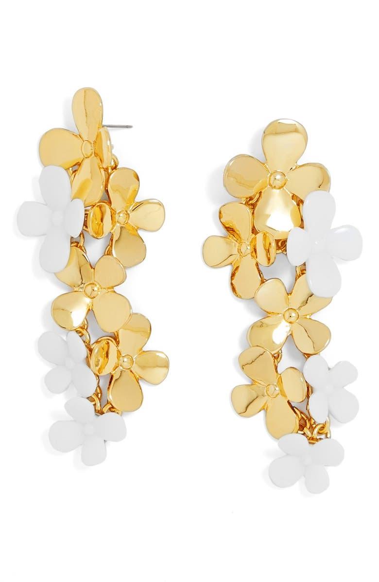 BAUBLEBAR 'Phlox' Drop Earrings, Main, color, 100