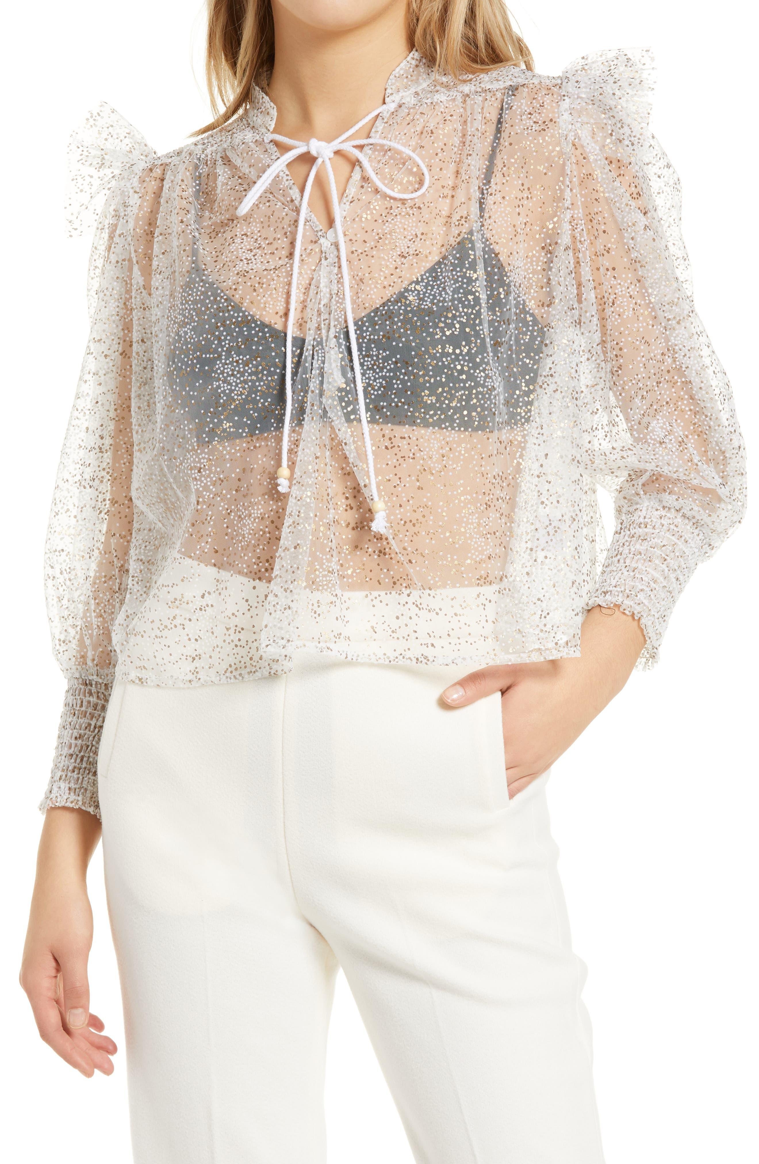 Lavenham Sheer Lace Shirt