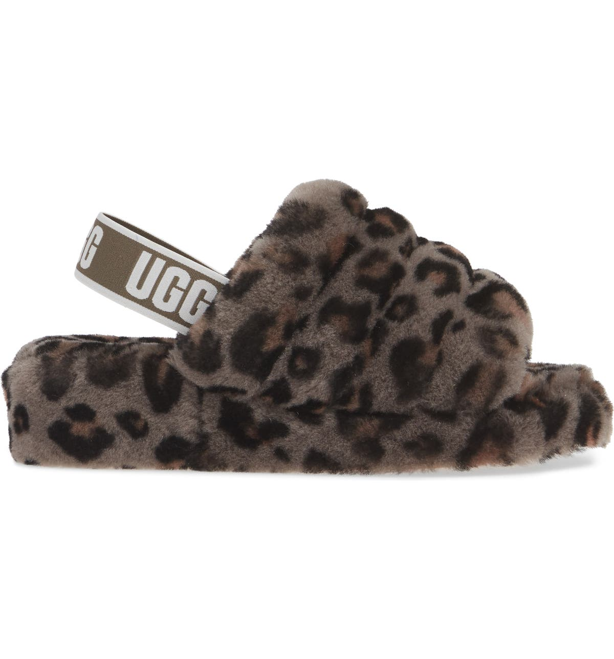 76c4db32698 Fluff Yeah Genuine Shearling Slide Slipper
