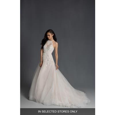 Hayley Paige Stella Halter Neck Wedding Dress, Size IN STORE ONLY - Ivory
