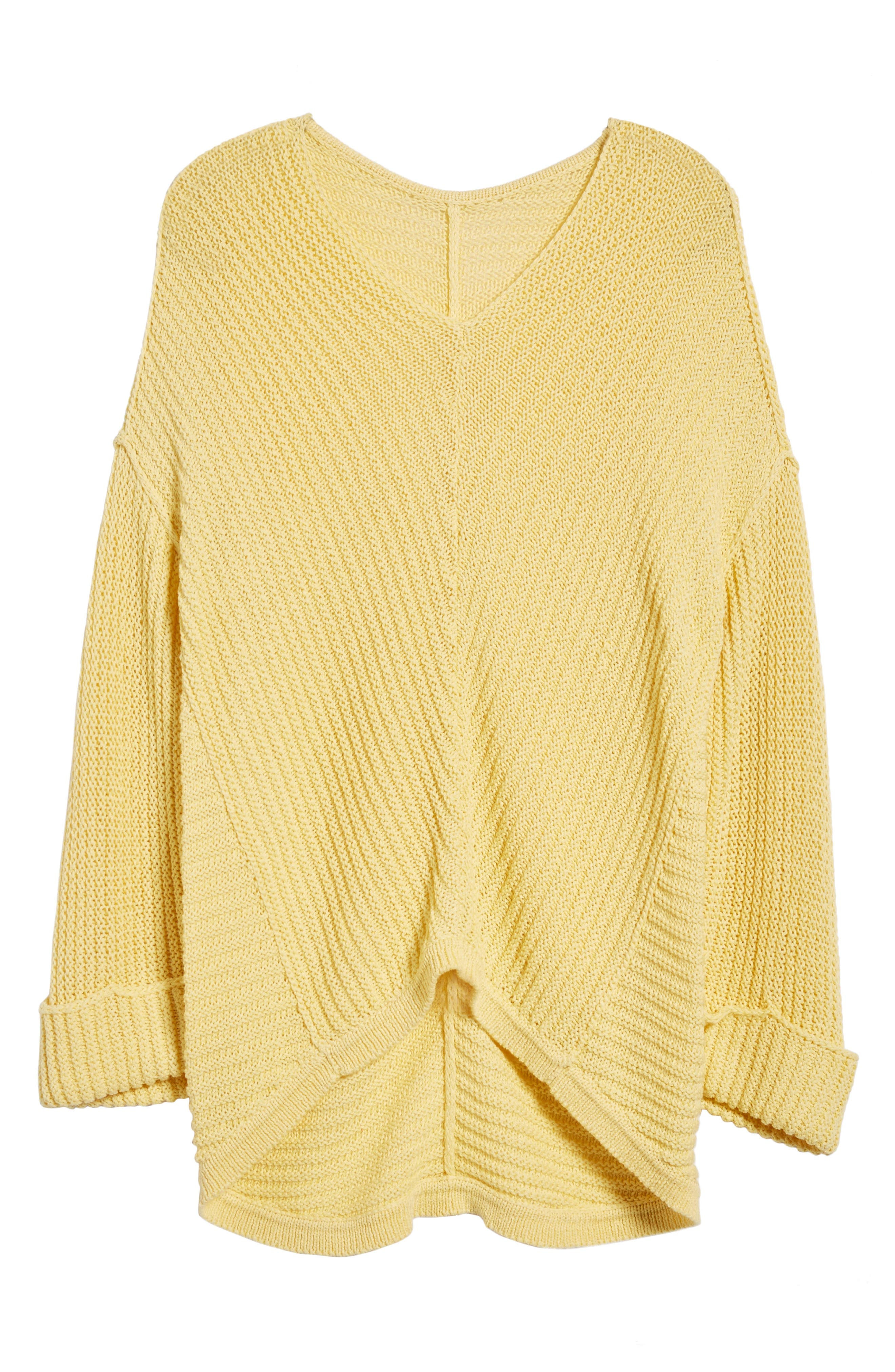 ,                             Cuffed Sleeve Sweater,                             Alternate thumbnail 42, color,                             740