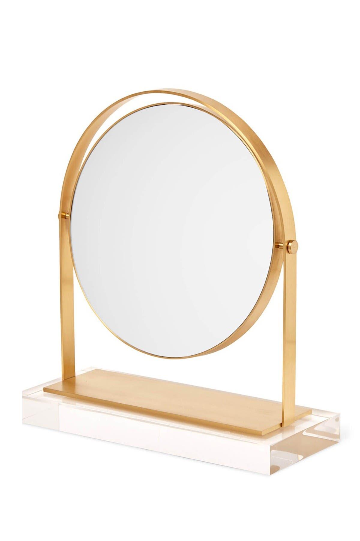 Kendra Scott Brass Acrylic Vanity Mirror Hautelook
