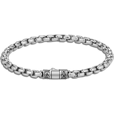 John Hardy Classic Chain Box Chain Bracelet
