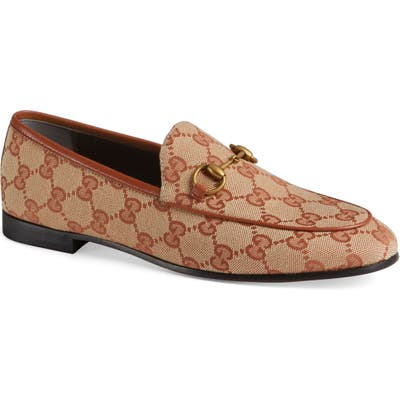 Gucci New Jordaan Loafer - Beige