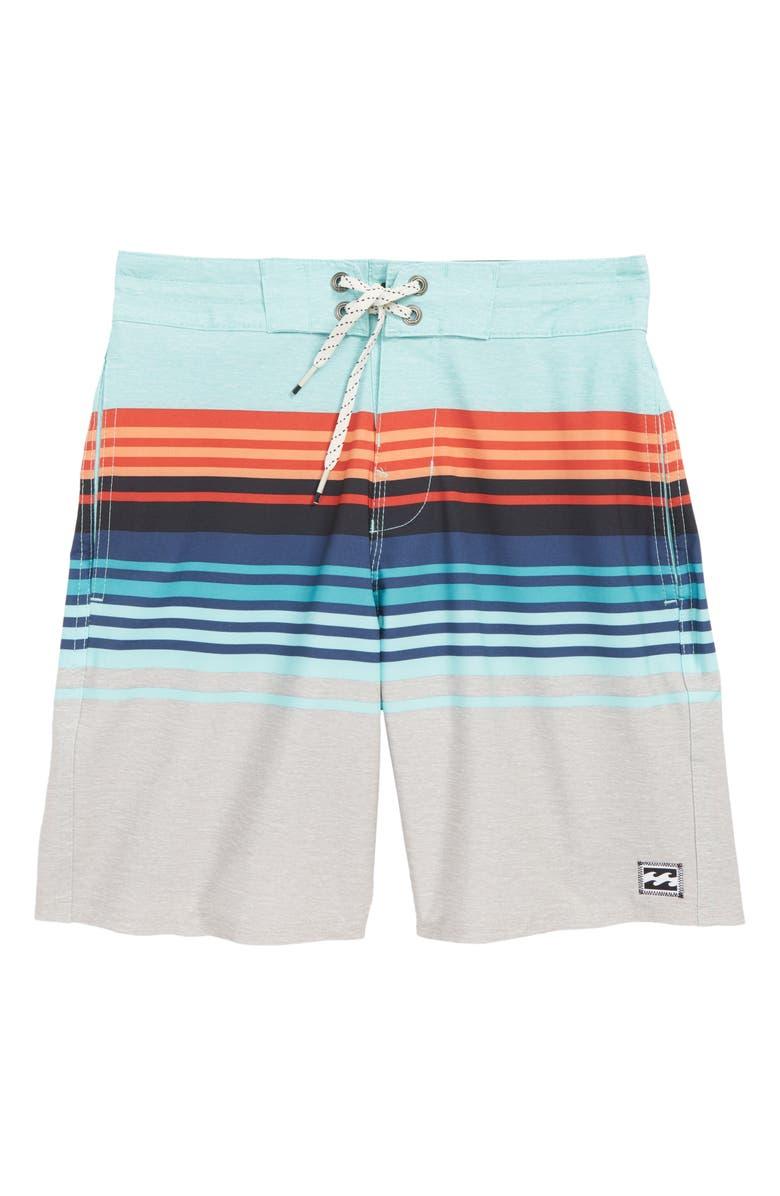 BILLABONG Spinner LT Board Shorts, Main, color, 061