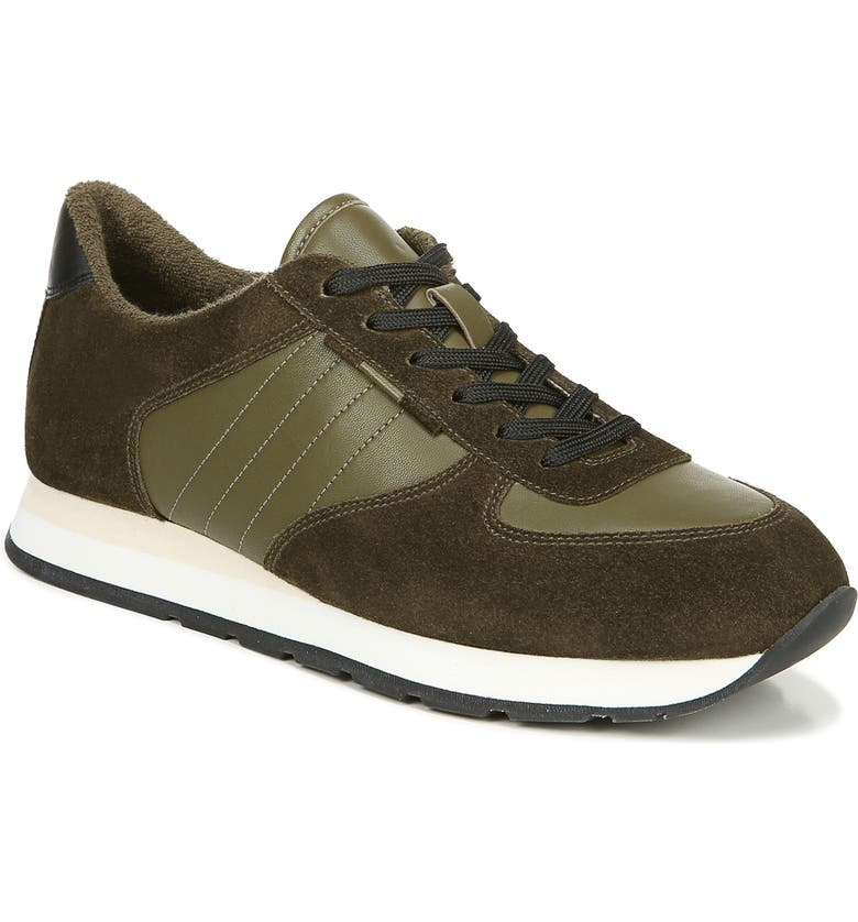 VINCE Pasha Sneaker, Main, color, MILITAIRE