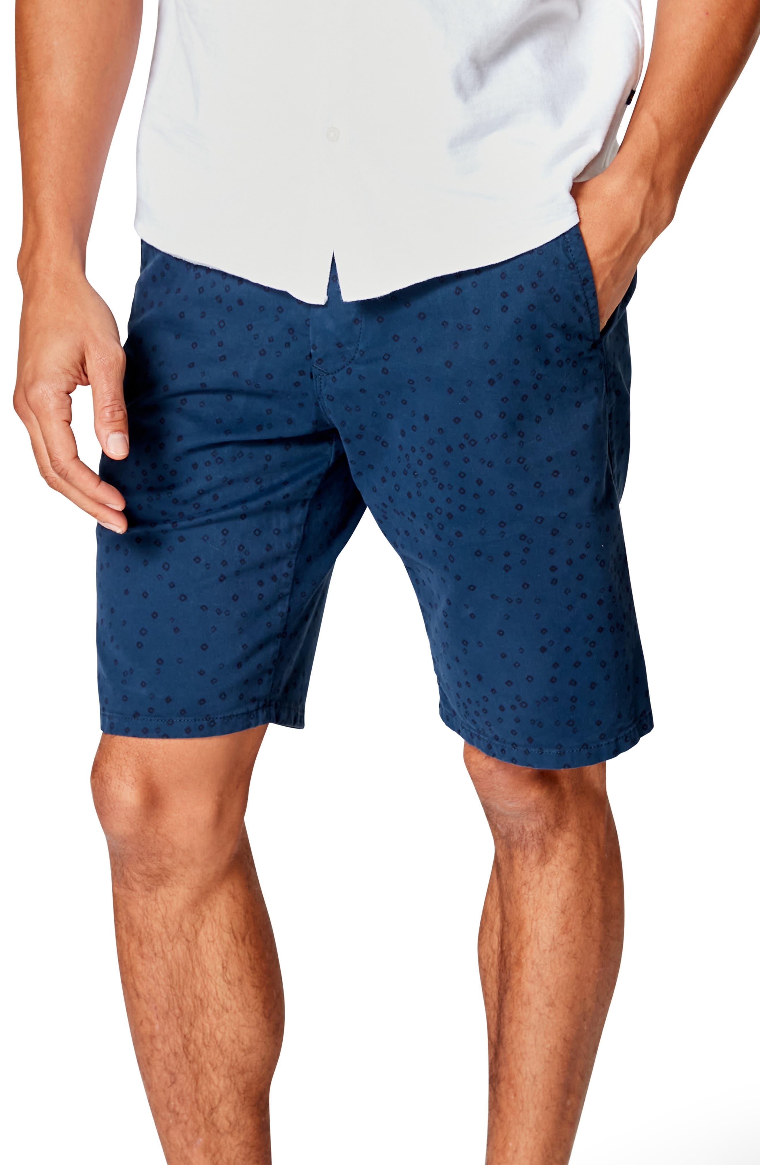 Monaco Slim Fit Flat Front Shorts