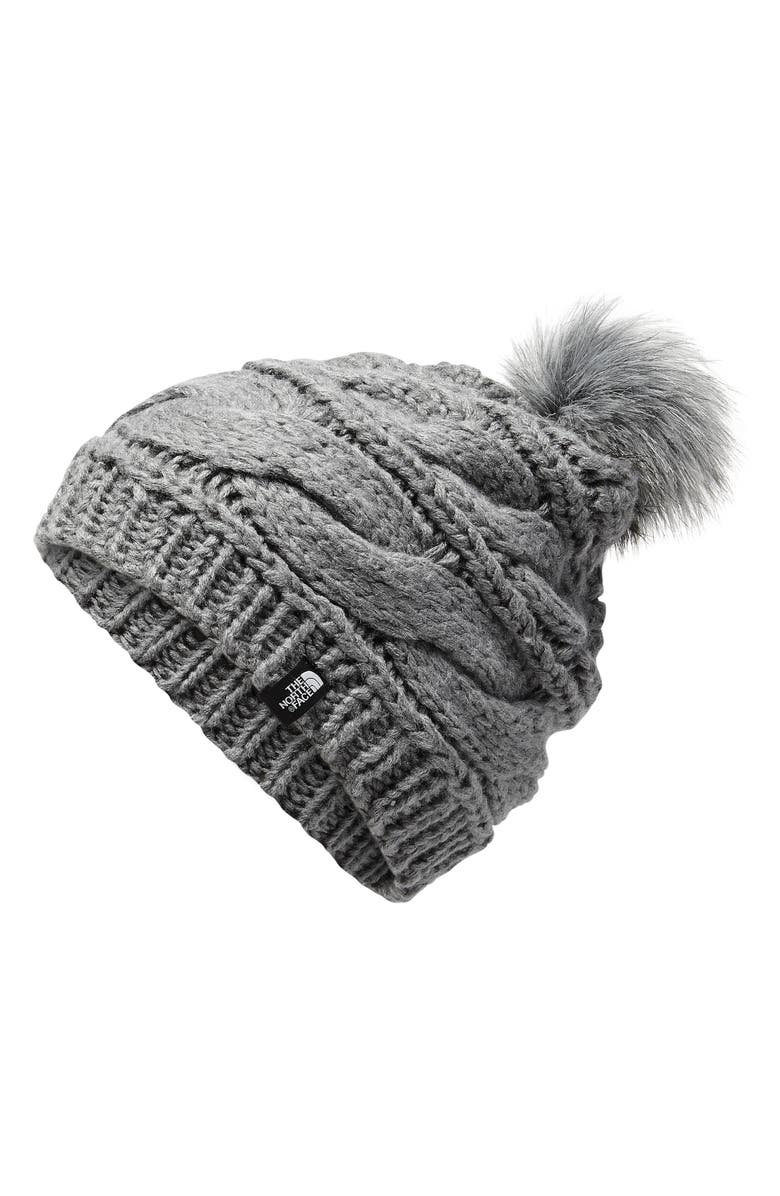 d32930cc3958e4 The North Face Triple Cable Pom Beanie | Nordstrom