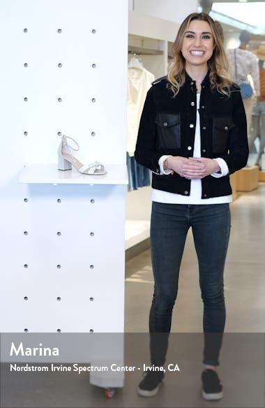 Nolita Crystal Ankle Strap Sandal, sales video thumbnail