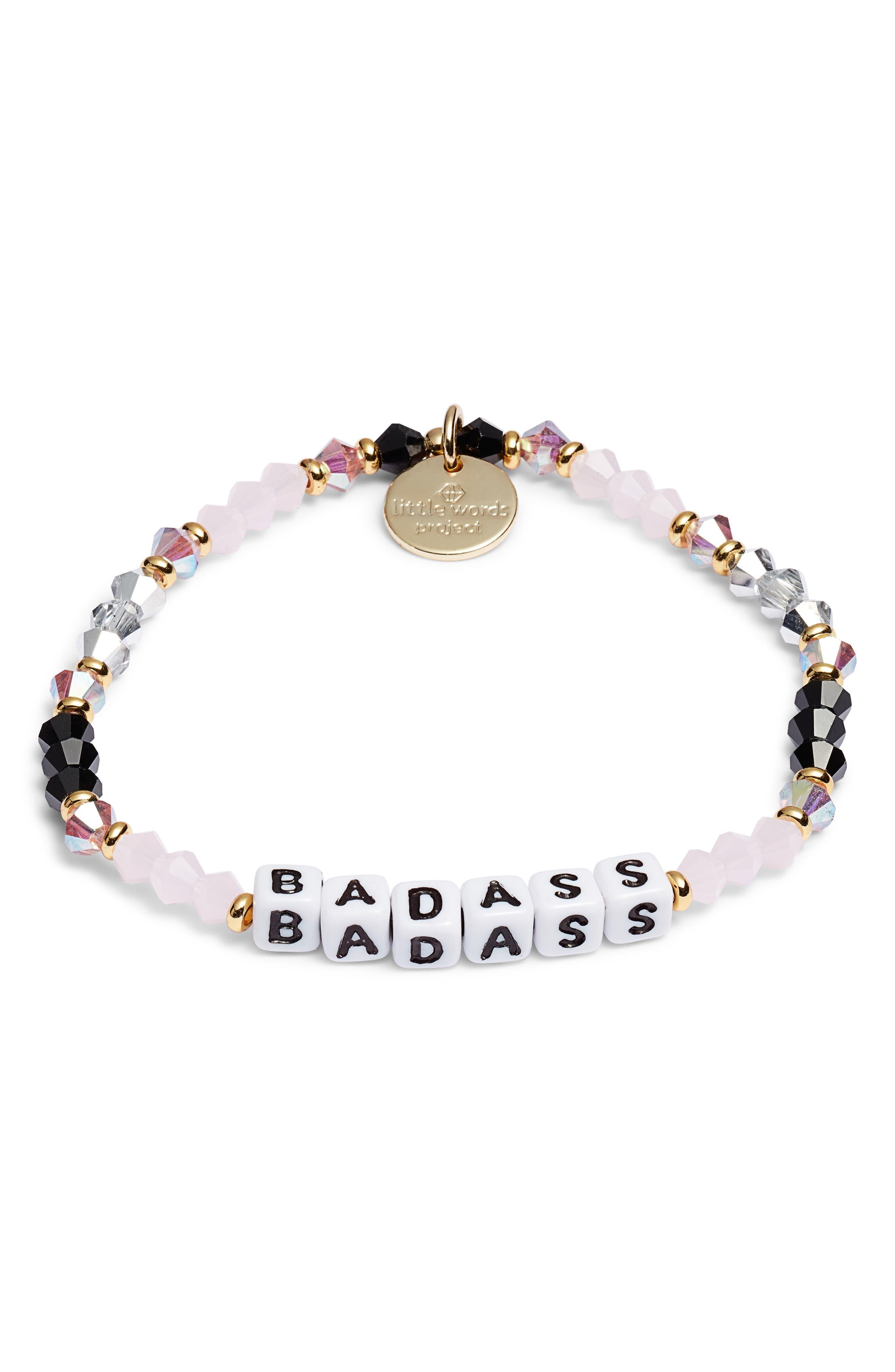 Badass Beaded Stretch Bracelet