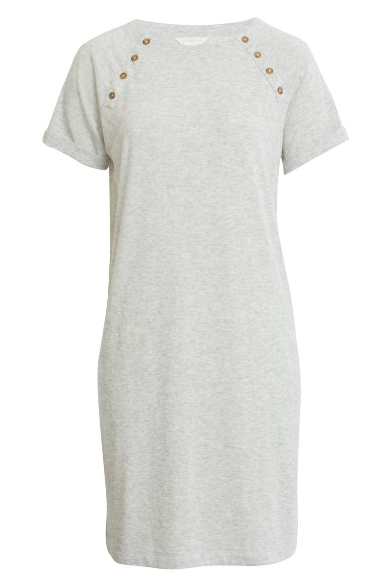 CASLON<SUP>®</SUP> Button Detail T-Shirt Dress, Main, color, 050