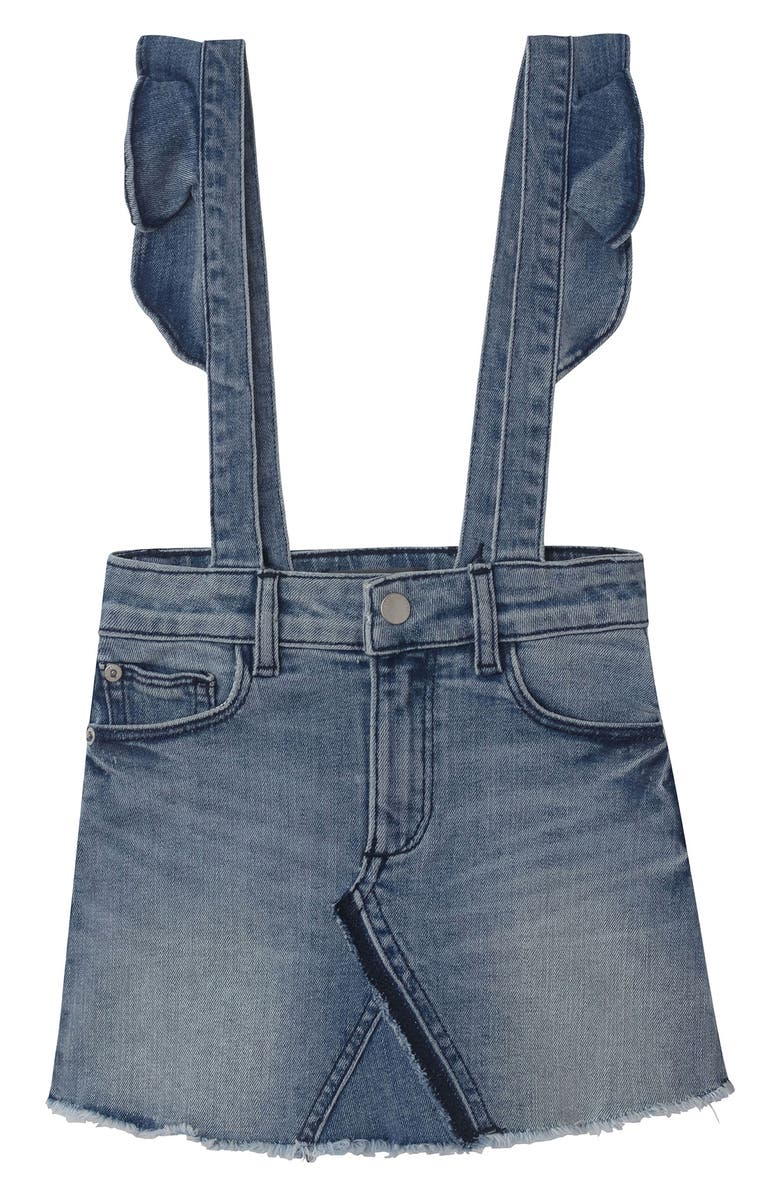 DL1961 DL 1961 Jenny Overall Denim Skirt, Main, color, 405