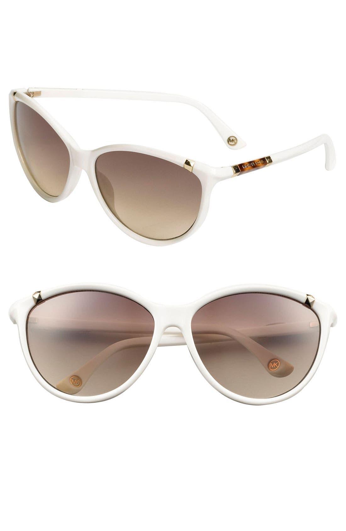 ,                             'Camila' 60mm Sunglasses,                             Main thumbnail 3, color,                             100