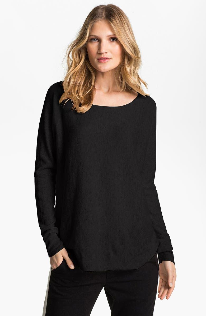 VINCE Cashmere Sweater, Main, color, BLACK