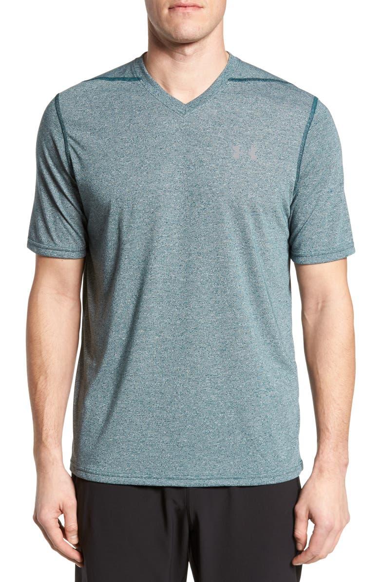 UNDER ARMOUR Regular Fit Threadborne T-Shirt, Main, color, 300